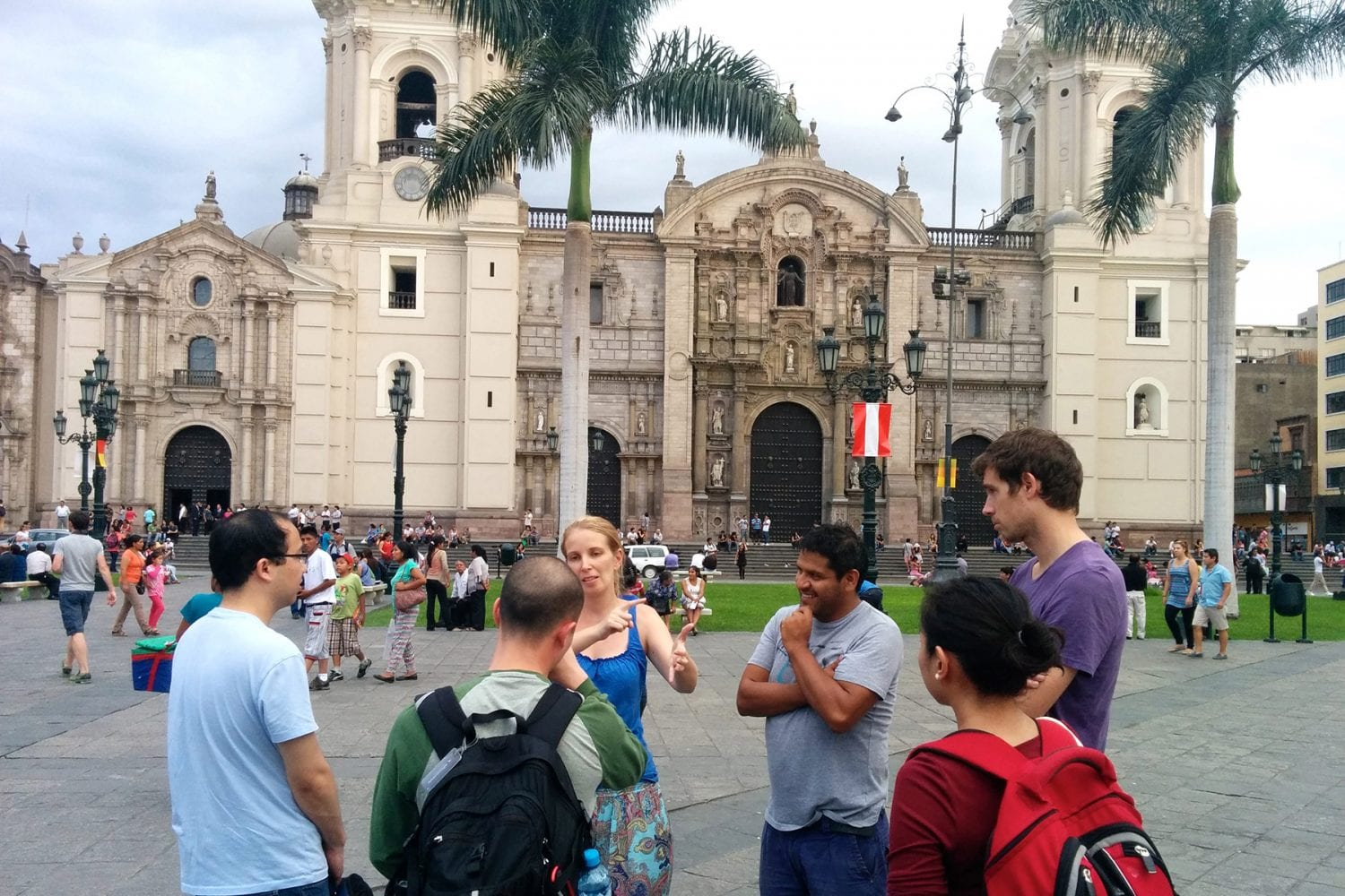 Highlights of Lima's historic centre on walking tour