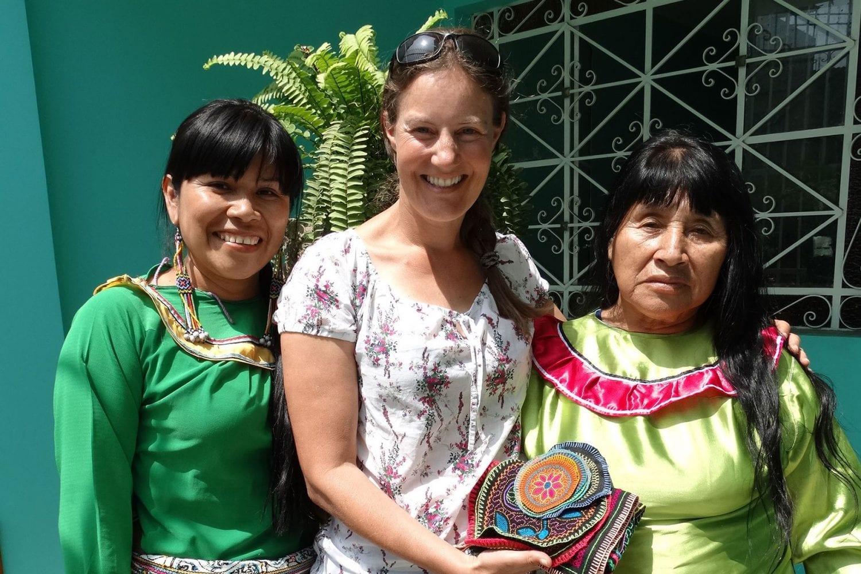 Shipibo community in Lima