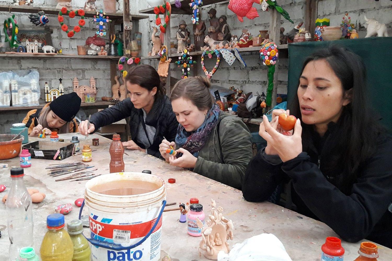 Local Artisan Pachacamac tour