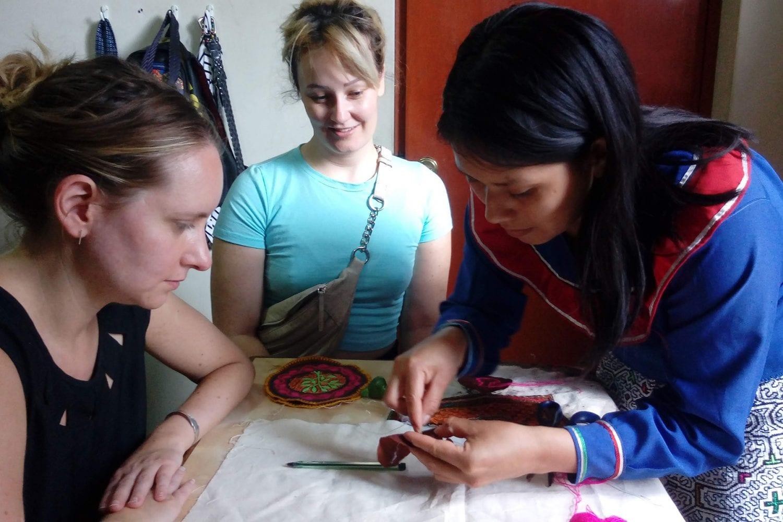 Shipibo artisan workshop