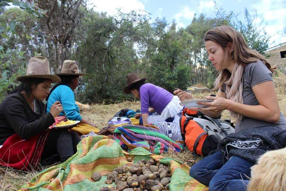 community stay Huaraz
